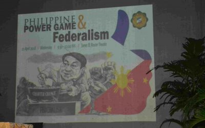 A Forum on Federalism and Power Play held at SPUQC