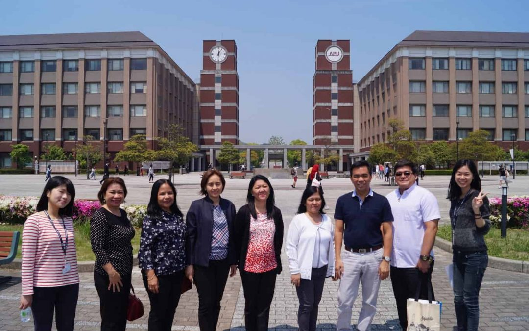 SPUQC Officials and College Faculty Benchmarked in Japan Universities